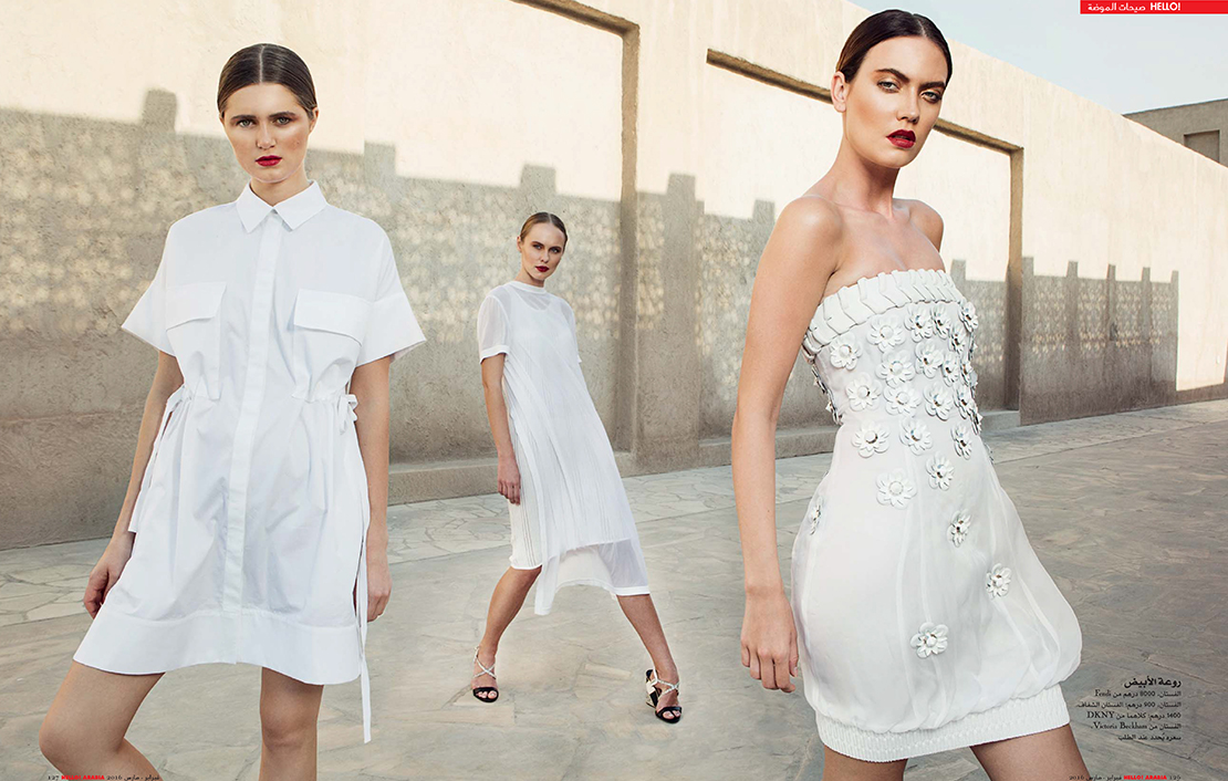My styling shoot with Hello Arabia