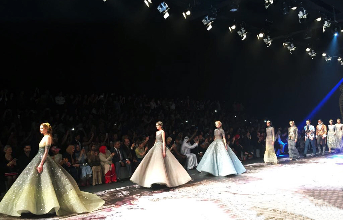 Michael Cinco's fairy-tale creations epitomize artisanal couture
